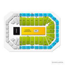 Dickies Arena Fort Worth Tx Seating Chart Dickies Arena 2019 Seating Chart