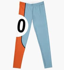 racing colours no23 leggings by rogue design