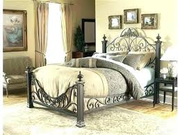king size wrought iron bed – ifama.co