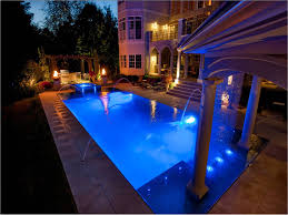 swimming pool lighting options. arizona pool features options for changing the color of your swimming lighting r