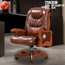 luxury leather office chair. foshan office furniture luxury leather chair computer leisure recline hot models o