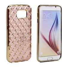 samsung galaxy s6 gold case. wholesale samsung galaxy s6 edge plus exotic electroplate soft hybrid case (rose gold) gold r