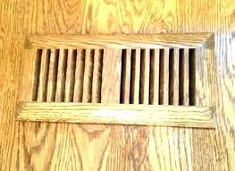 wood vents floor wood vent covers floor vents stunning registers and deflector home depot floors old wood vents