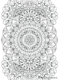 Mandala Color Pages Abstract Coloring Pages For Adults Best Mandala