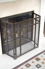 fireplace screen safety