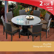 inch round patio table ideas and fascinating 60 outdoor dining images chair cushion pluto kit c