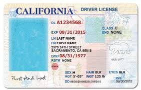 License Drivers In Jose Template Result Image 2019 Ca For California License California