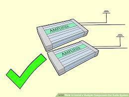 wiring diagram for car stereo system wiring image 6 ways to install a multiple component car audio system wikihow on wiring diagram for car