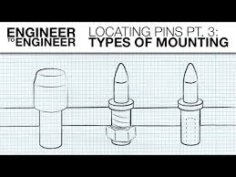Locating Pins Pt 3 Types Of Mounting Engineer To Engineer Misumi Usa
