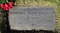 Wendell Duane Erickson (1917-1980) - Find A Grave Memorial