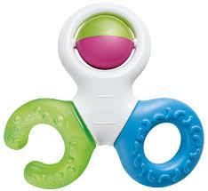 <b>MAM Прорезыватель для</b> зубов Bite&Play Teether — купить в ...