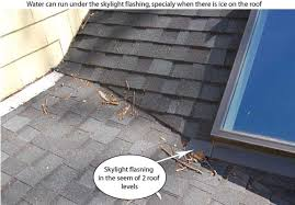 A roof with a shingle missing causes roof leaks