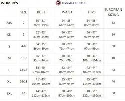 Burberry Prorsum Size Chart Size Chart For Canada Goose Womenfashiondesigners Canada