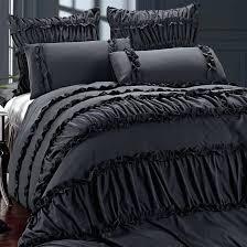 black ruffle comforter black ruffle comforter set black ruffle comforter set black ruffle comforter full black black ruffle comforter white comforter sets