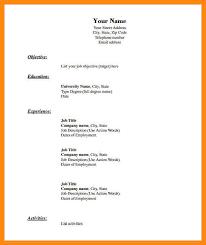 Blank Resume 20 Blank Resume Format Template Cv Ideas Form Pdf
