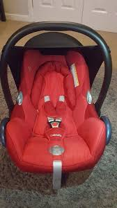 reduced great condition maxi cosi cabriofix baby car seat rrp 85