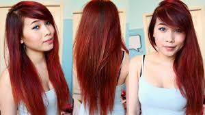 Dye Hair Dark Red At Home
