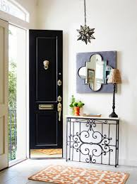 front door tableHow to Add Historic Character to a New Home  Slim console table