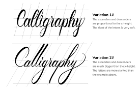 Stroke Charts Calligraphy How To Do Modern Calligraphy 3 Popular Styles 2019