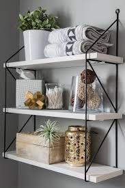 wall shelf with front lip best of fresh modern powder room reveal keys to