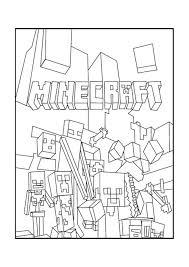 Niewu Kleurplaat Minecraft Monsters Kleurplaat 2019
