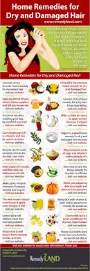 Dry And Damaged Hair Home Remedies