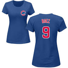 Javier Name Baez Cubs Ladies T-shirt Chicago Number And bbfcbcfbfffdcb|Professional Football Journal
