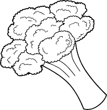Small Picture Broccoli Vegetable Coloring Page Wecoloringpage