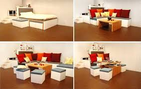 multifunction furniture small spaces. Multifunctional Furniture For Small Spaces As Bed And Table Also Sofa Plus Storage Multifunction