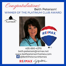 Congratulations, Beth! - RE/MAX SIGNATURE STILLWATER | Facebook