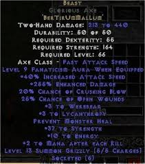 beast runeword diablo 2 runewords 1 10