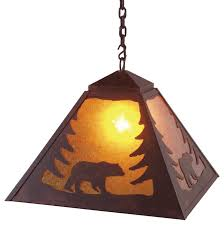 rustic pendant lighting fixtures. swag pendant light bear rusticpendantlighting rustic lighting fixtures