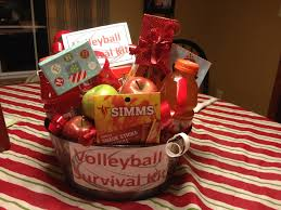 Volleyball survival kit!!! Add some snacks, Gatorade, and gift ...