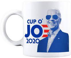 In 1898, the martinson coffee company was founded by joe martinson in new york. Amazon Com Joe Biden For President 2020 Cup O Jo Democrat Coffee Ceramic Mug 11oz Kitchen Dining