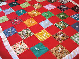 52 best tied quilts images on Pinterest | Blankets, Fabrics and ... & VIntage Baby Quilt Red Hand Tied Quilt Vintage by flabbyrabbit, $19.75 Adamdwight.com