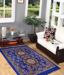 iws 5x7 feet blue traditional rug