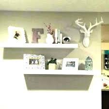 wall floating shelves ideas decor bathroom for wood dec wall floating shelves