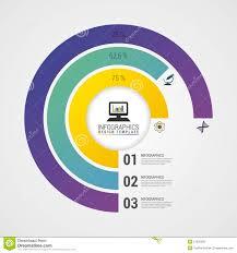 Modern Chart Design Pie Chart Circle Graph Modern Infographics Design Template