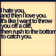 Best Ever I Hate You But I Love You Quotes Soaknowledge