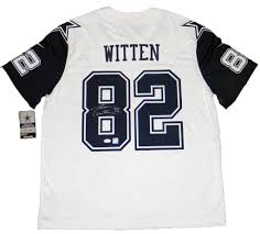 Jason Witten Llc Autographed His Jersey-