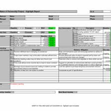 Annual Financial Statements Template Excel Report 2010 Project