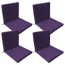 back seat outdoor waterproof chair pad cushion garden patio furniture w ties