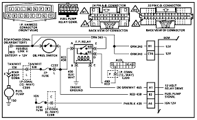 89 fuel pump relay fuse problem corvetteforum chevrolet the relays in earlier cars have different pinouts this diagram is for an 86