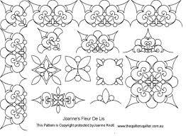 The Quilter's Quilter :: Digital Quilting Patterns :: Pattern ... & Joannes Fleur de lis set Adamdwight.com