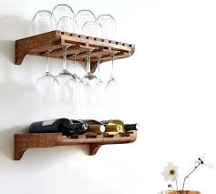 wall mounted wine cabinet wall mounted wine storage wall mounted wine glass shelves