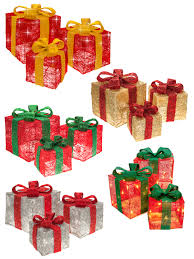 3 Light Up Christmas Boxes Details About Set Of 3 Led Light Up Christmas Present Bow Xmas Gift Box Parcel Decoration
