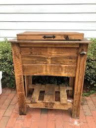 wooden patio cooler wooden patio cooler wooden pallet cooler plans