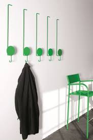 Funky Coat Racks furnitureawesomeandmodernwhitedeerantlercoatrackdesignwithgreen coatrackfinishalsowhitewallpaintcoloralongwithgreenbarstoolsmodern 86