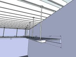 wood hanging garage storage shelves plans daybed with suspended