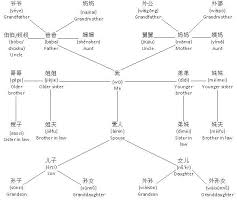 Chinese Relationship Tree My Chinese Notebook